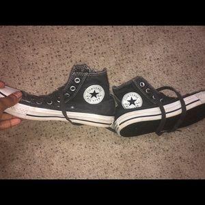 Pre owned zipper converse sneaker 7
